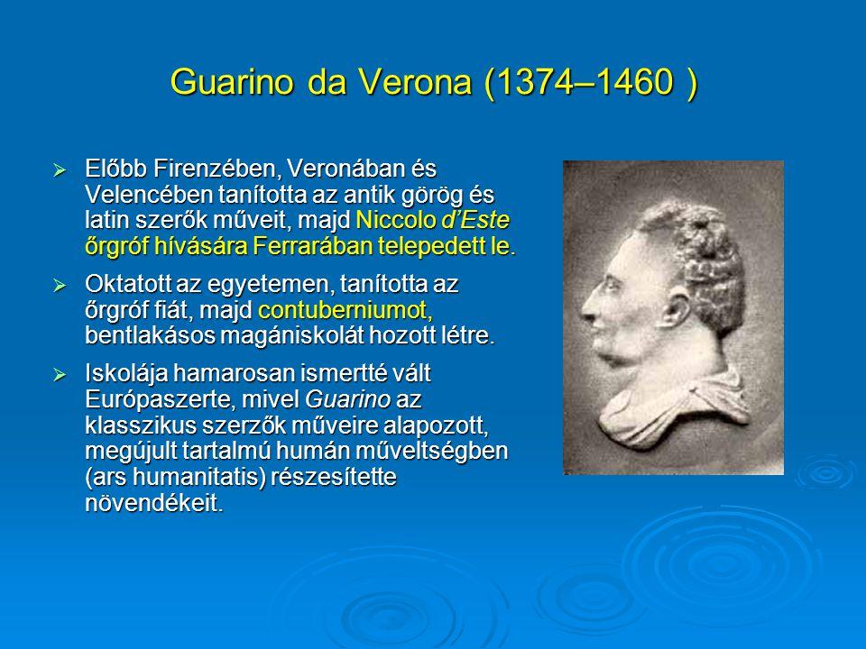 Guarino da Verona (1374–1460 )