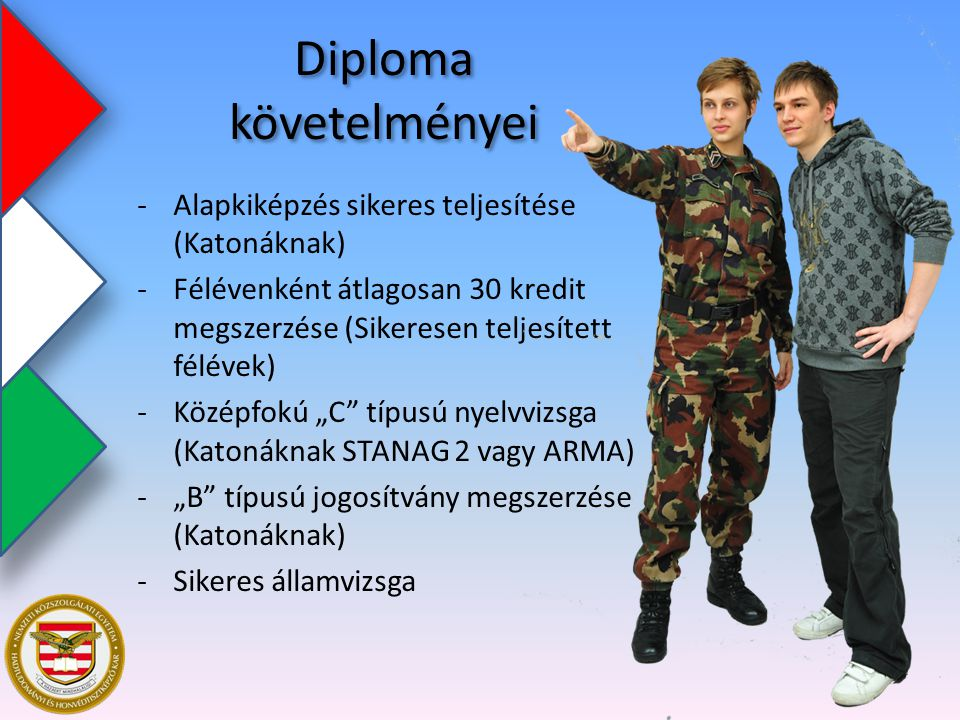 Diploma követelményei