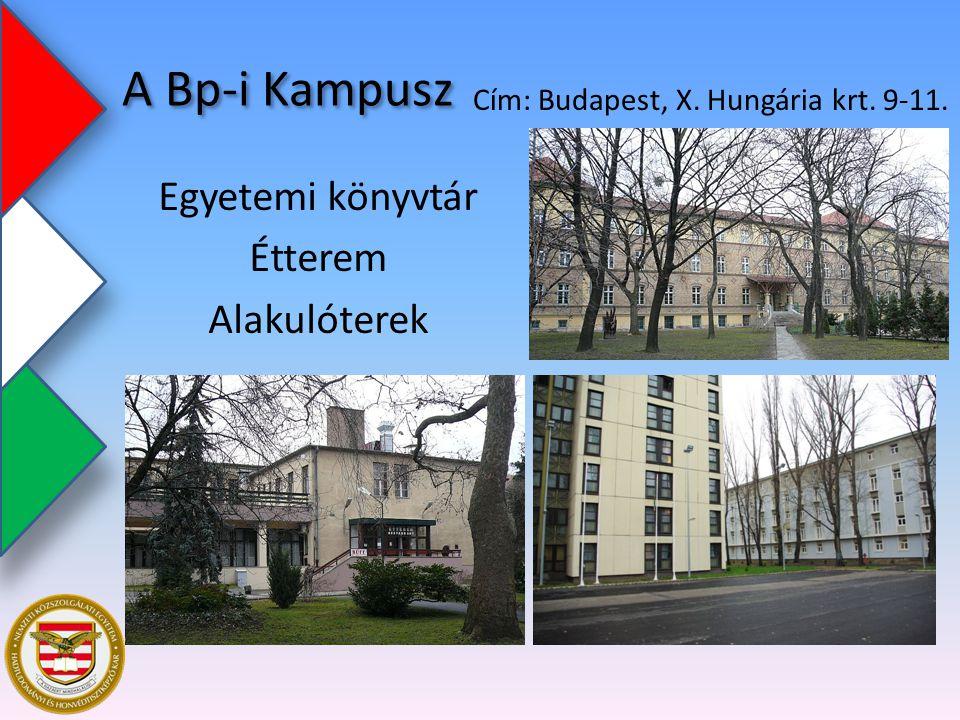 Egyetemi könyvtár Étterem Alakulóterek