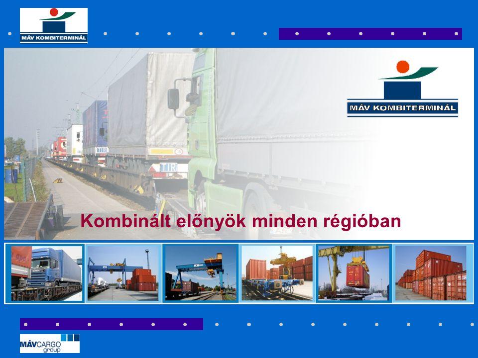 Kombinált előnyök minden régióban