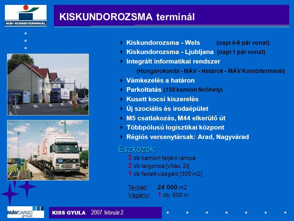 KISKUNDOROZSMA terminál