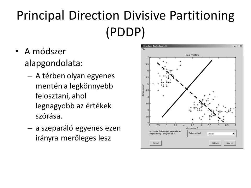 Principal Direction Divisive Partitioning (PDDP)