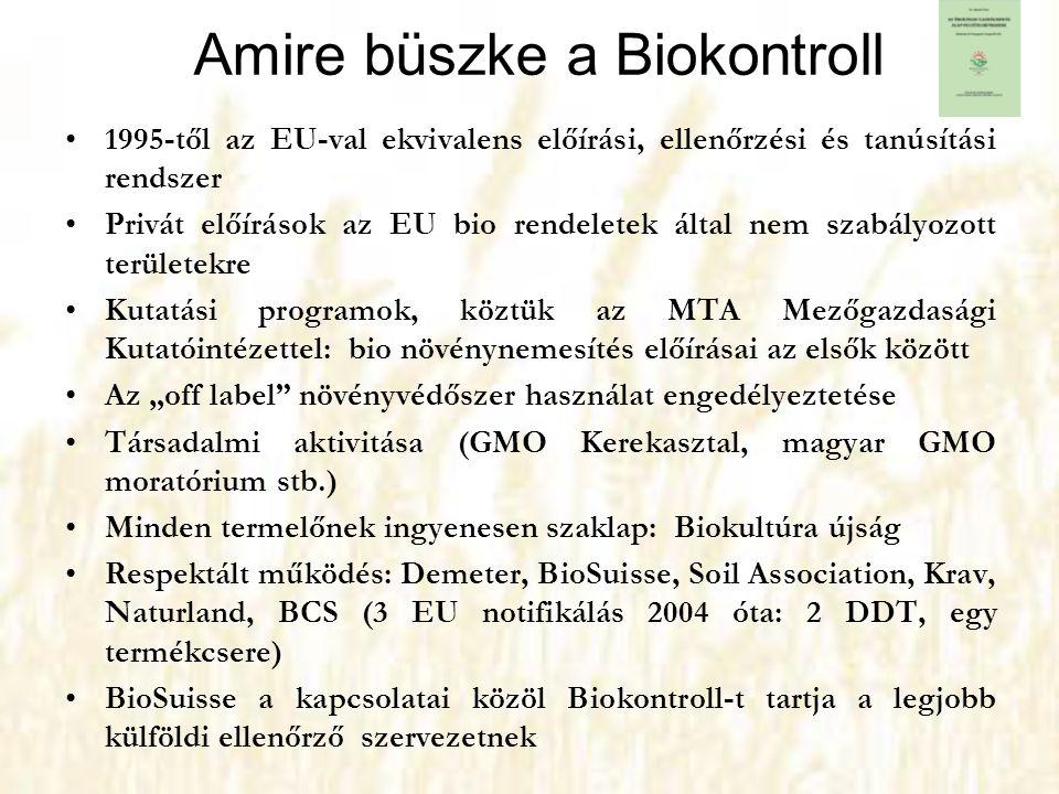Amire büszke a Biokontroll