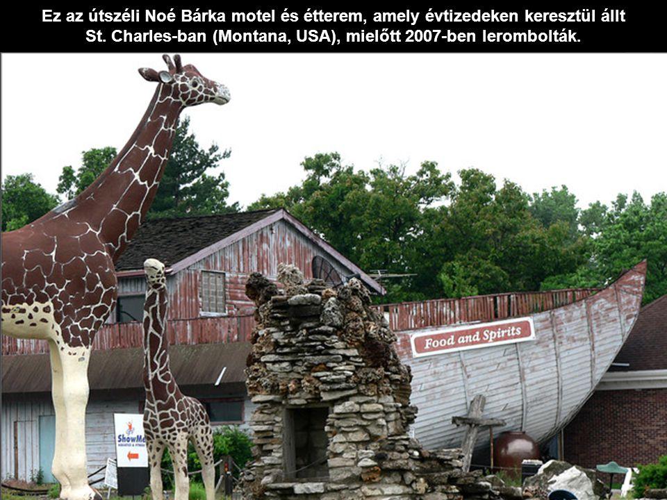 St. Charles-ban (Montana, USA), mielőtt 2007-ben lerombolták.