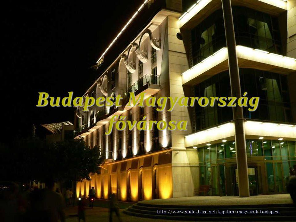 Budapest Magyarország fővárosa