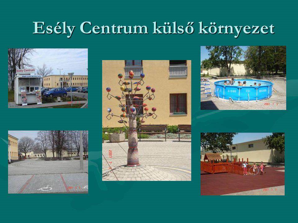 Esély Centrum külső környezet