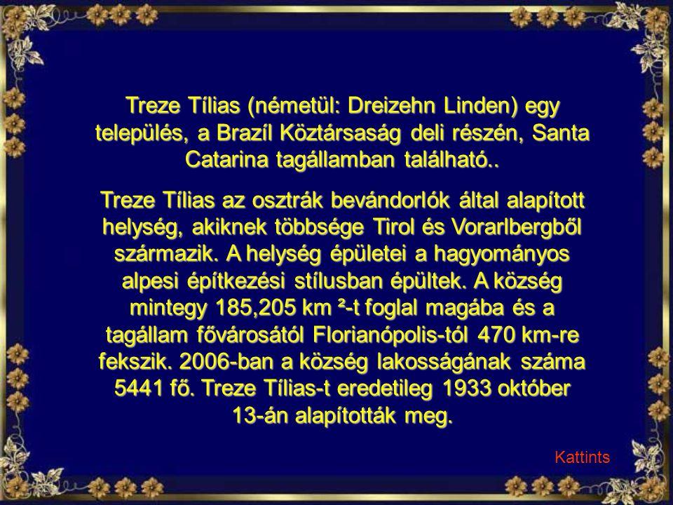 Treze Tílias (németül: Dreizehn Linden) egy település, a Brazíl Köztársaság deli részén, Santa Catarina tagállamban található..