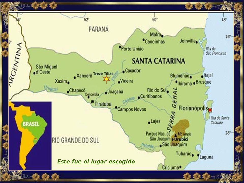 Localização MAPA TREZE TÍLIAS.jpg Este fue el lugar escogido