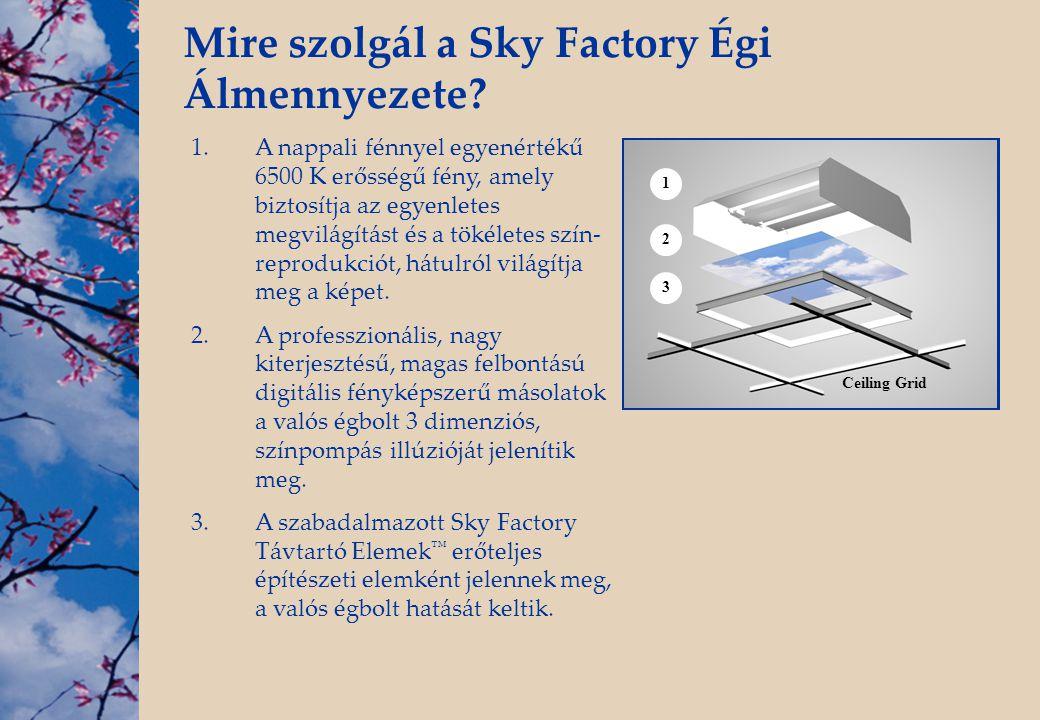 Mire szolgál a Sky Factory Égi Álmennyezete