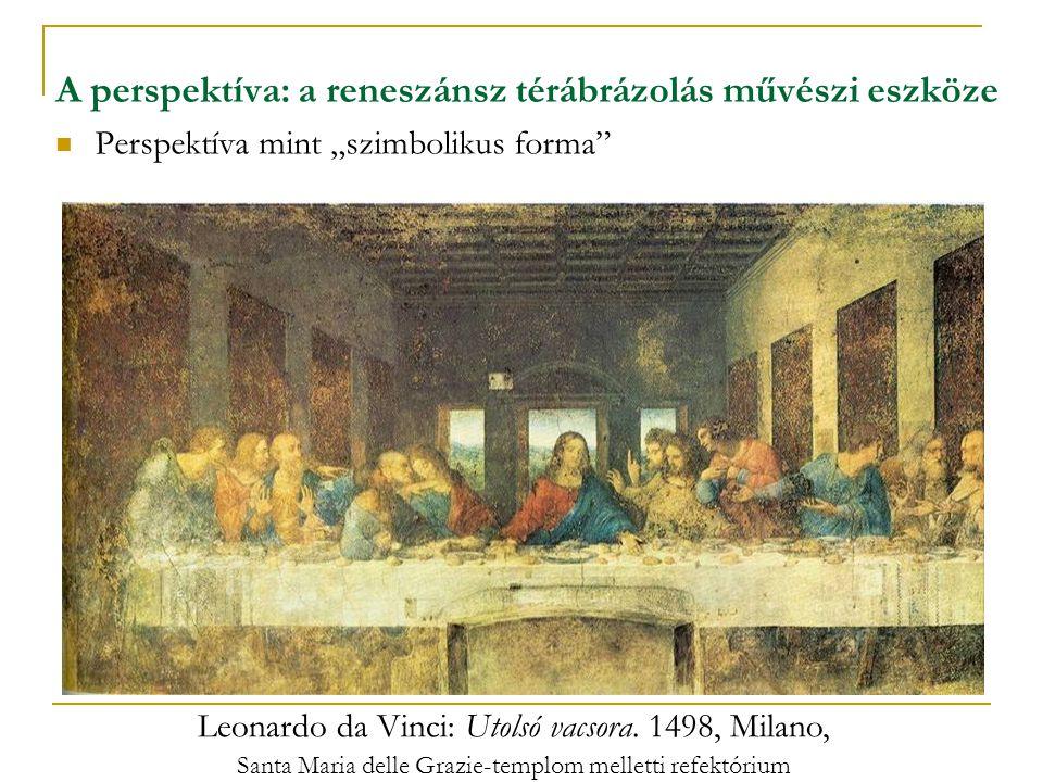 A perspektíva: a reneszánsz térábrázolás művészi eszköze