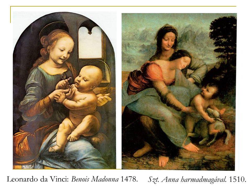 Szt. Anna harmadmagával. 1510.