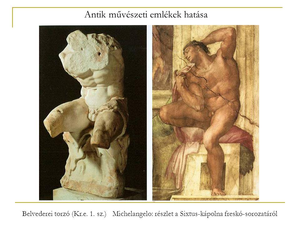 Antik művészeti emlékek hatása