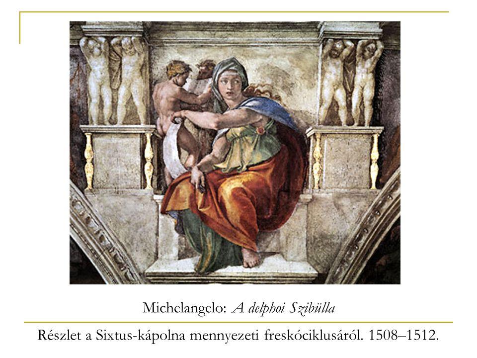 Michelangelo: A delphoi Szibülla