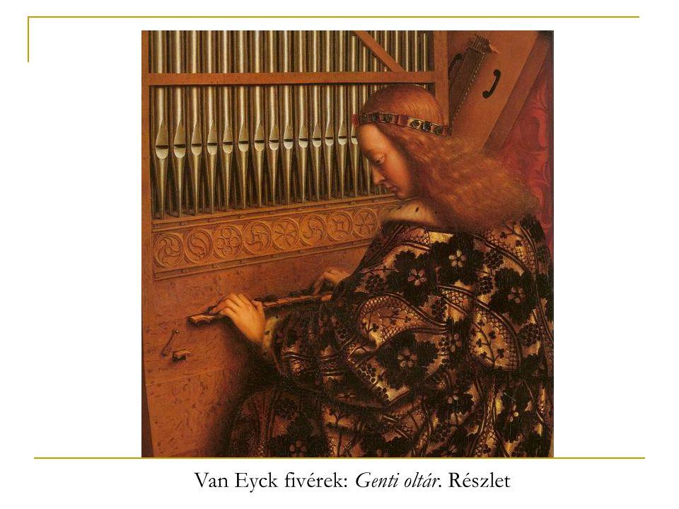 Van Eyck fivérek: Genti oltár. Részlet