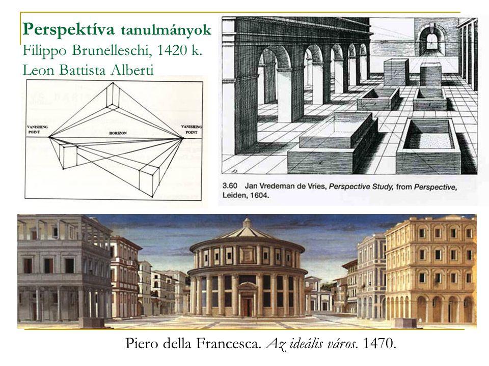 Perspektíva tanulmányok Filippo Brunelleschi, 1420 k