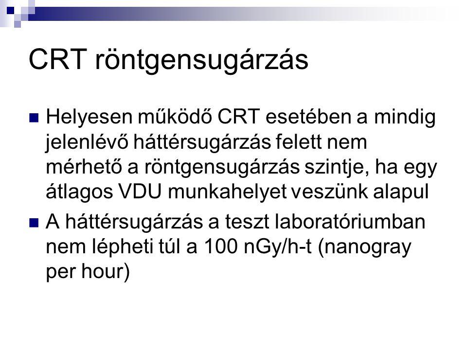CRT röntgensugárzás