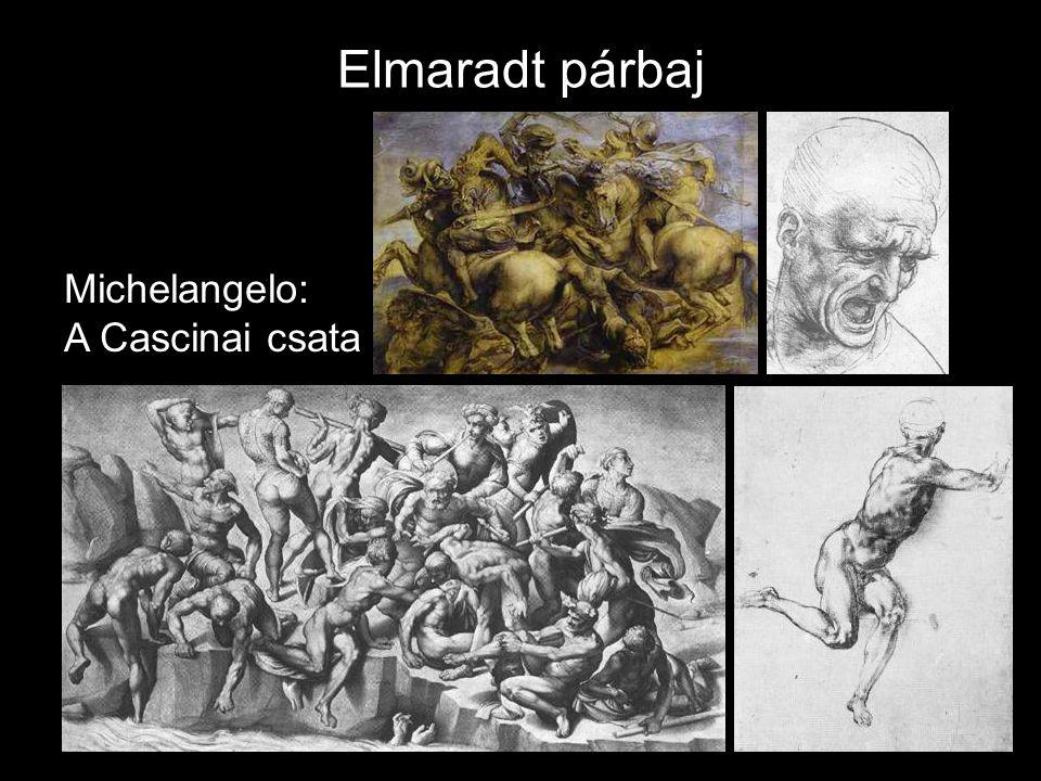 Elmaradt párbaj Michelangelo: A Cascinai csata