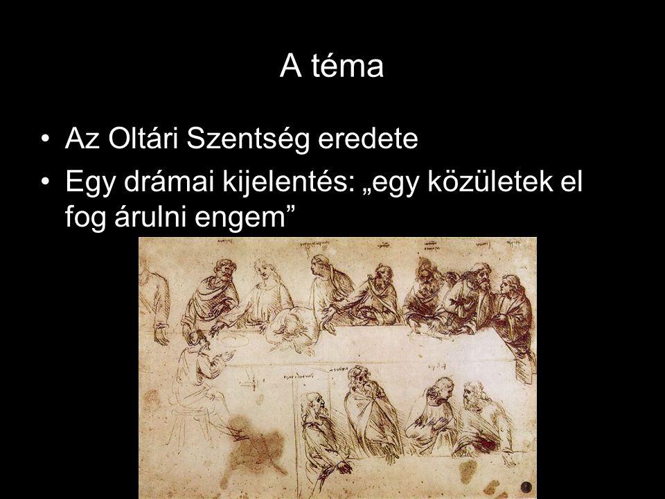 A téma Az Oltári Szentség eredete