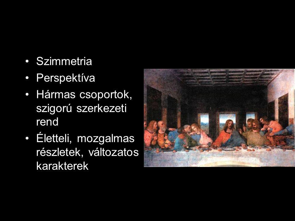Szimmetria Perspektíva. Hármas csoportok, szigorú szerkezeti rend.
