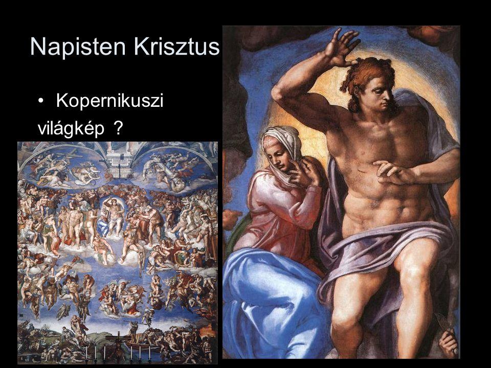 Napisten Krisztus Kopernikuszi világkép