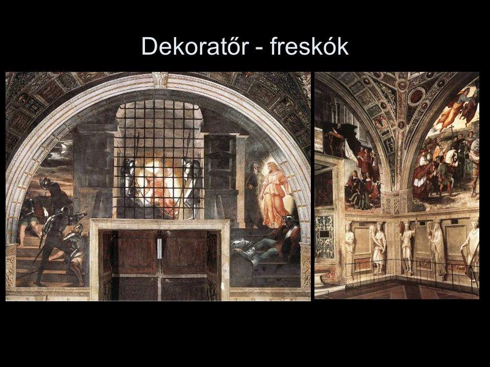 Dekoratőr - freskók