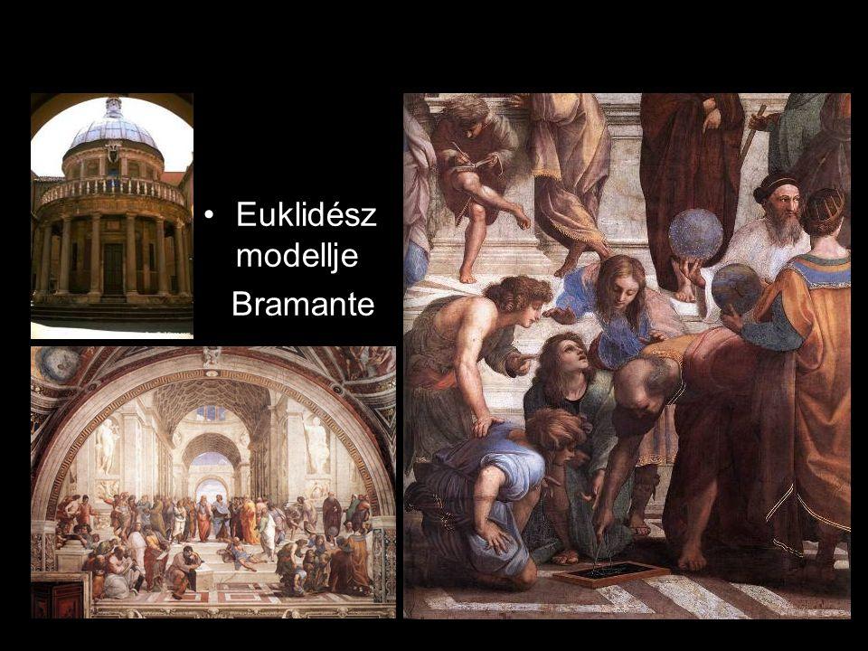 Euklidész modellje Bramante