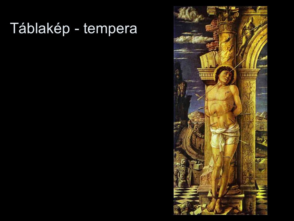Táblakép - tempera