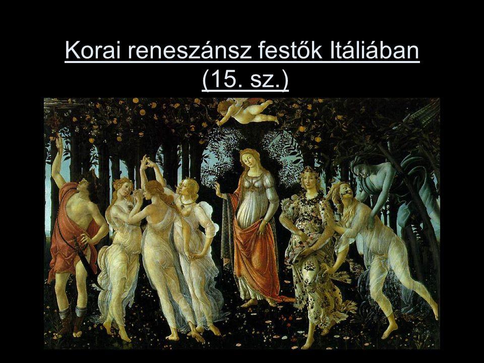Korai reneszánsz festők Itáliában (15. sz.)