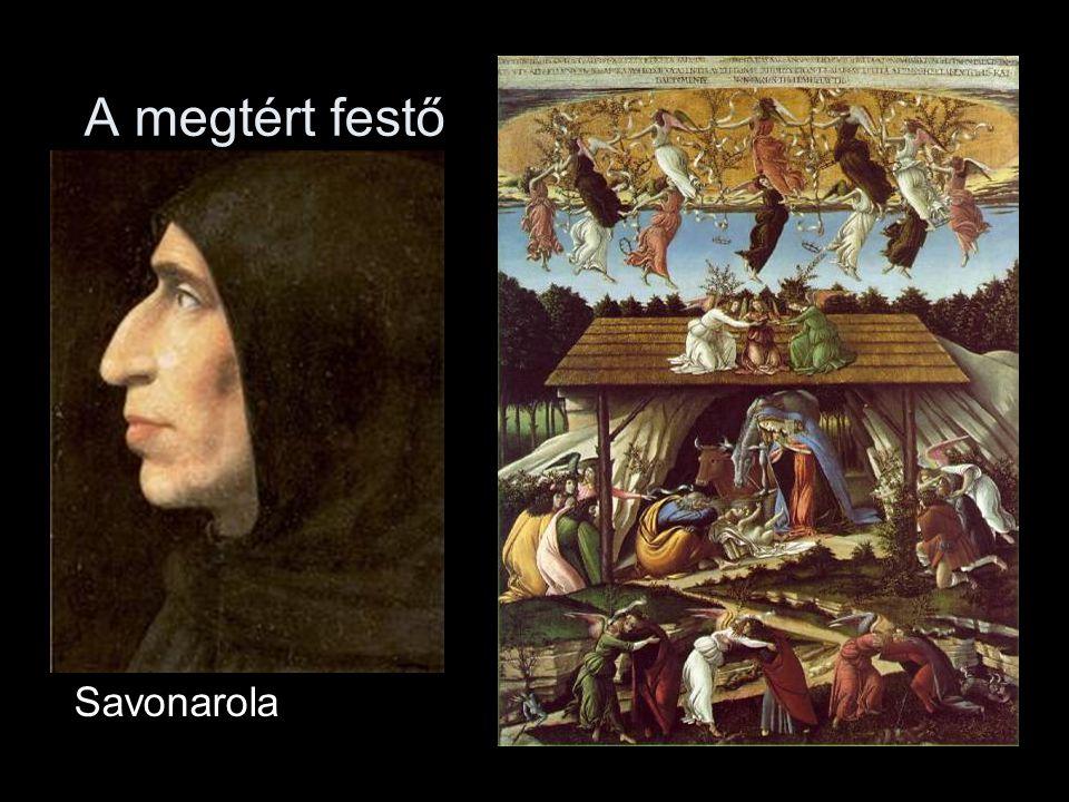 A megtért festő Savonarola