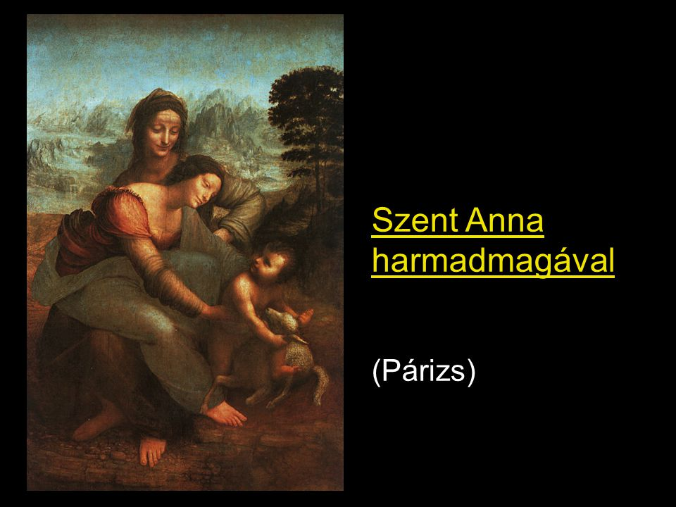 Szent Anna harmadmagával