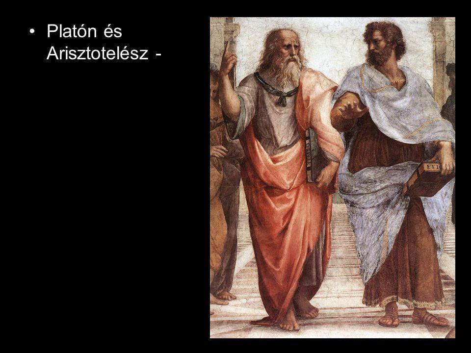 Platón és Arisztotelész -