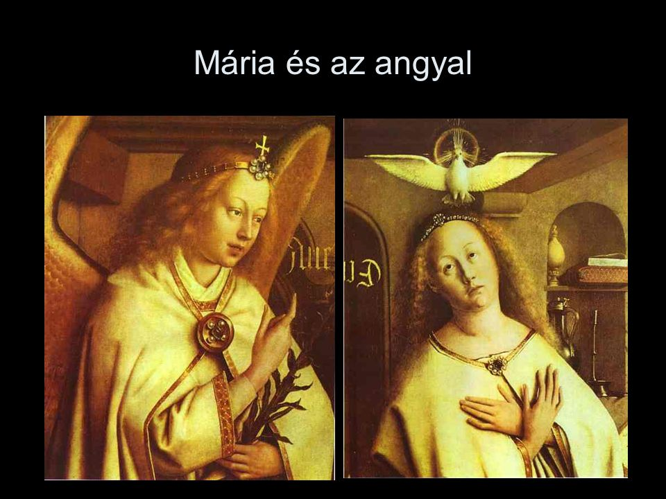 Mária és az angyal