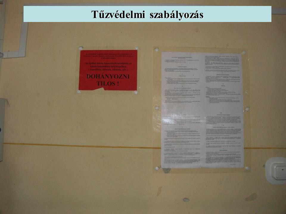 Tűzvédelmi szabályozás