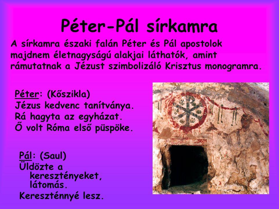Péter-Pál sírkamra
