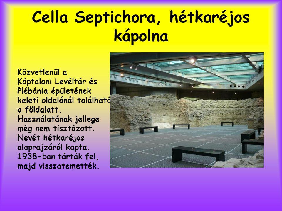 Cella Septichora, hétkaréjos kápolna