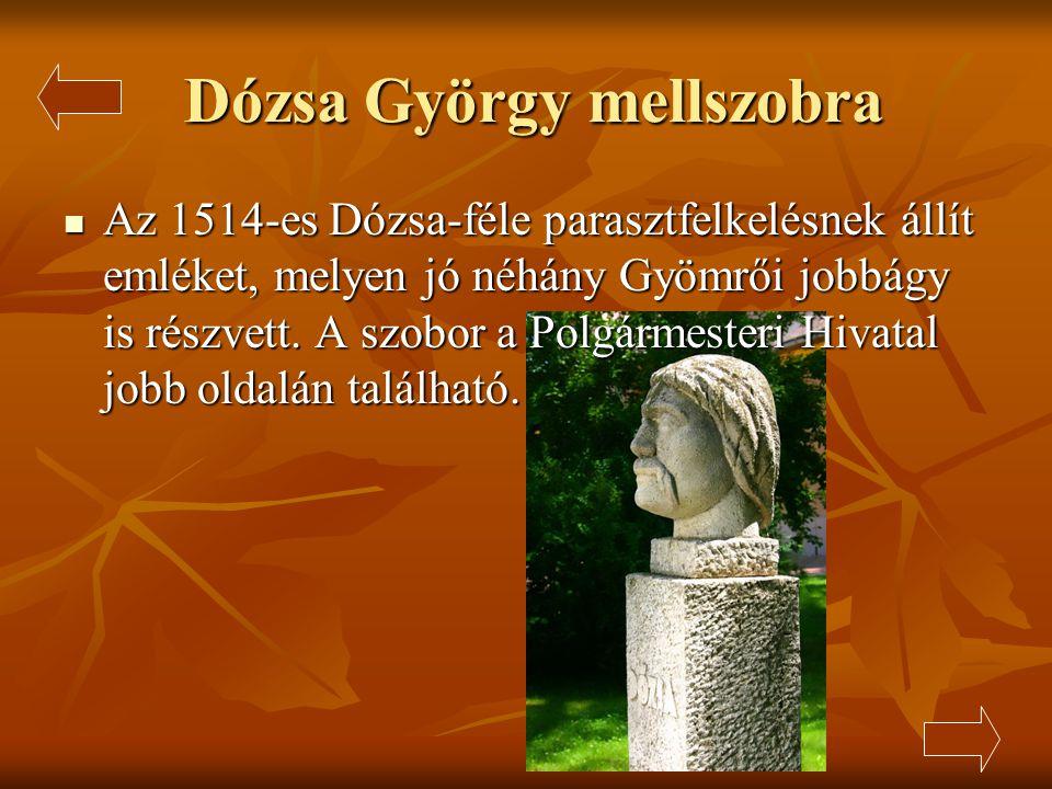 Dózsa György mellszobra