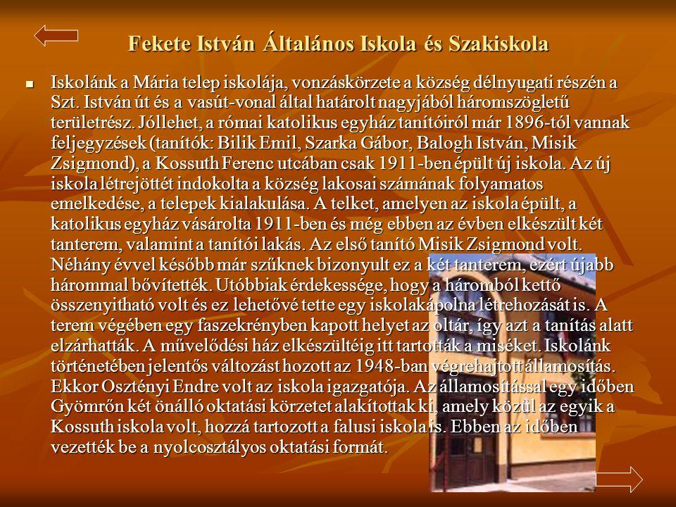 Fekete István Általános Iskola és Szakiskola
