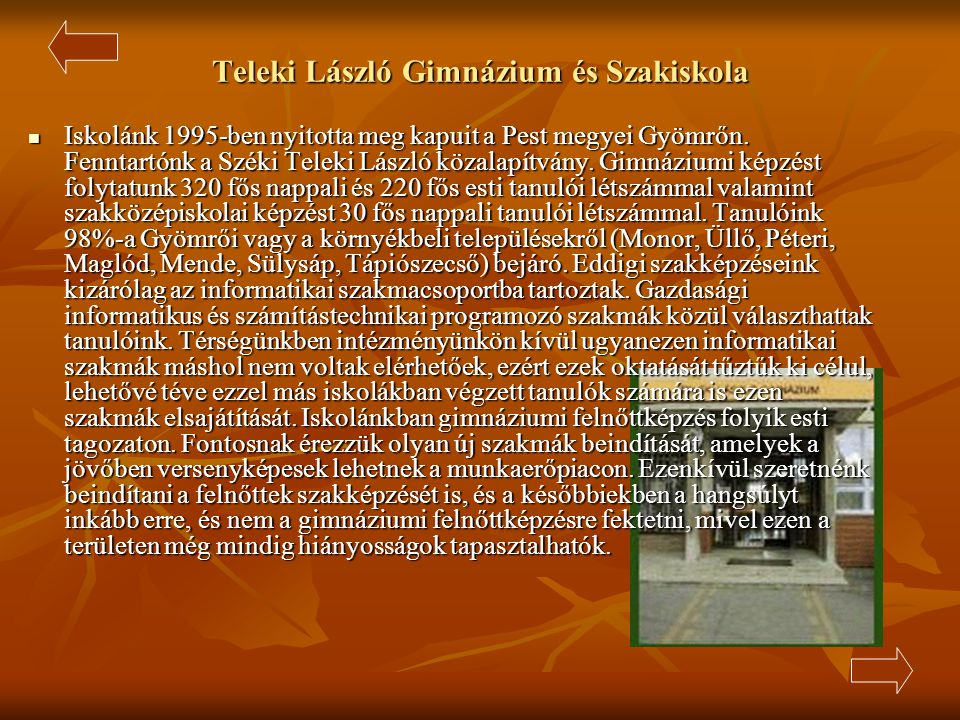Teleki László Gimnázium és Szakiskola