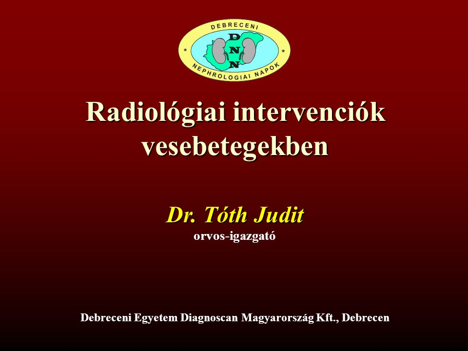 Radiológiai intervenciók vesebetegekben