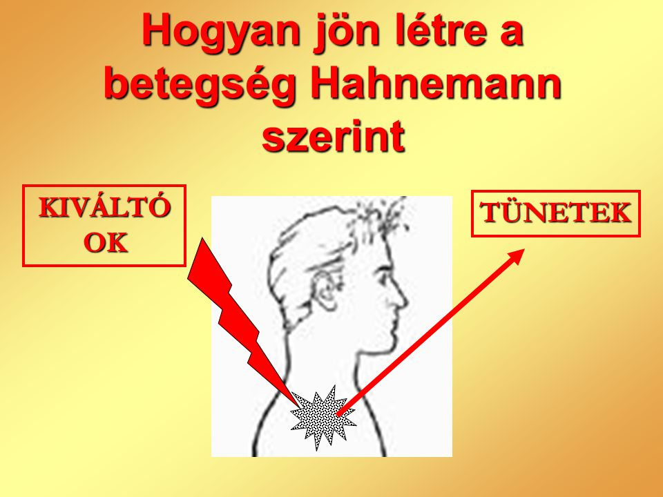 Hogyan jön létre a betegség Hahnemann szerint