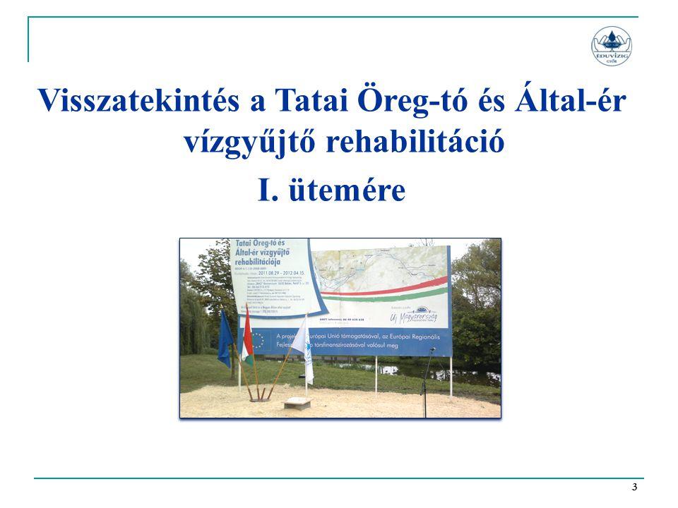 Visszatekintés a Tatai Öreg-tó és Által-ér vízgyűjtő rehabilitáció