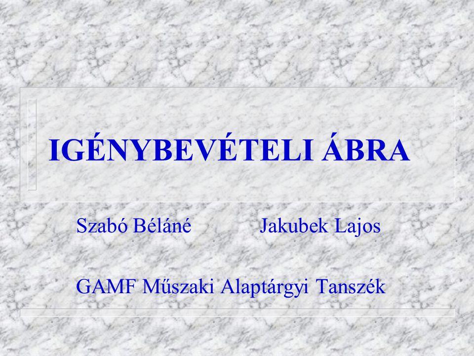 Szabó Béláné Jakubek Lajos GAMF Műszaki Alaptárgyi Tanszék