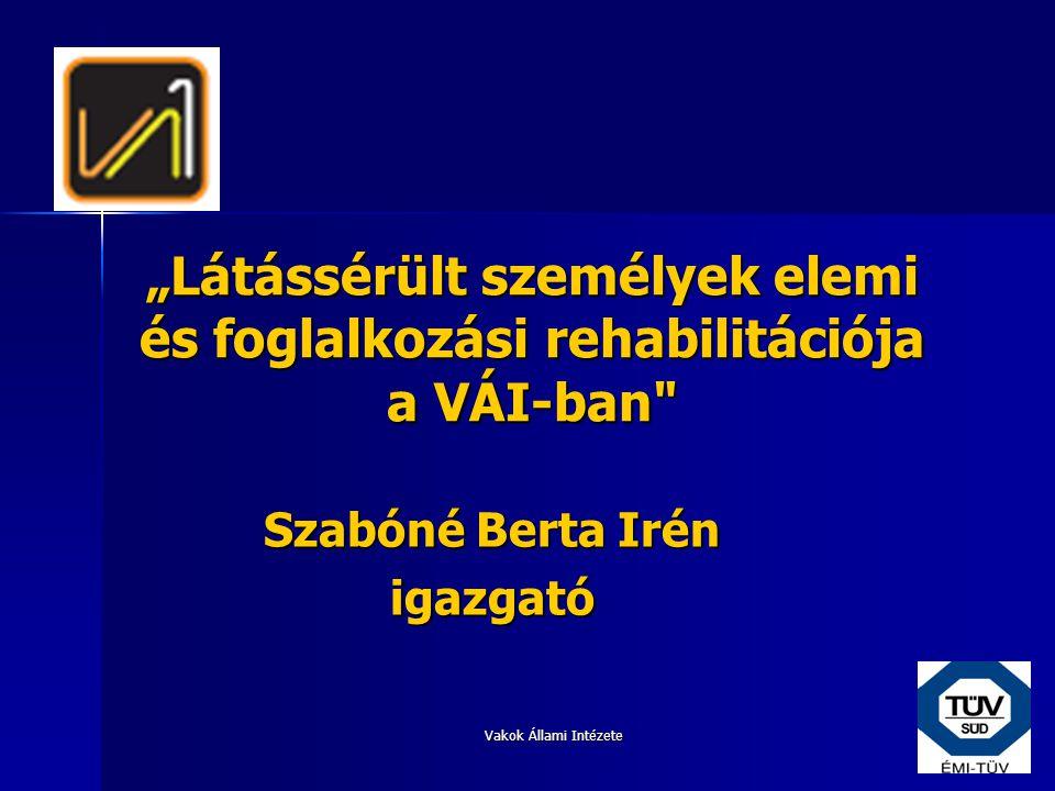 Szabóné Berta Irén igazgató