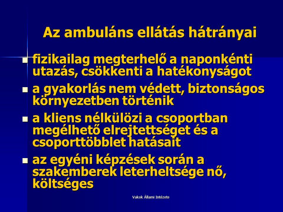 Az ambuláns ellátás hátrányai