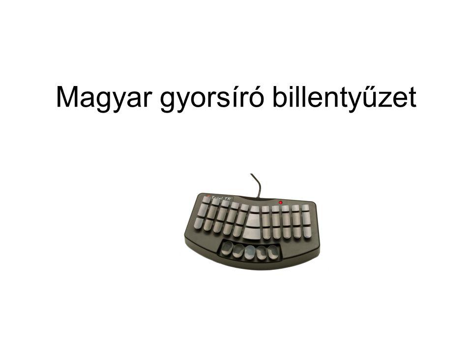 Magyar gyorsíró billentyűzet