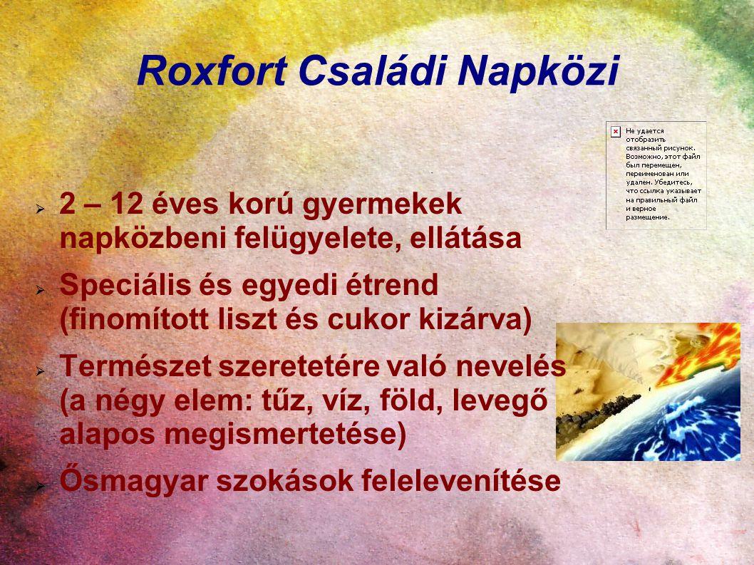 Roxfort Családi Napközi