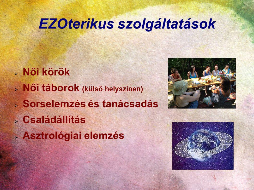 EZOterikus szolgáltatások