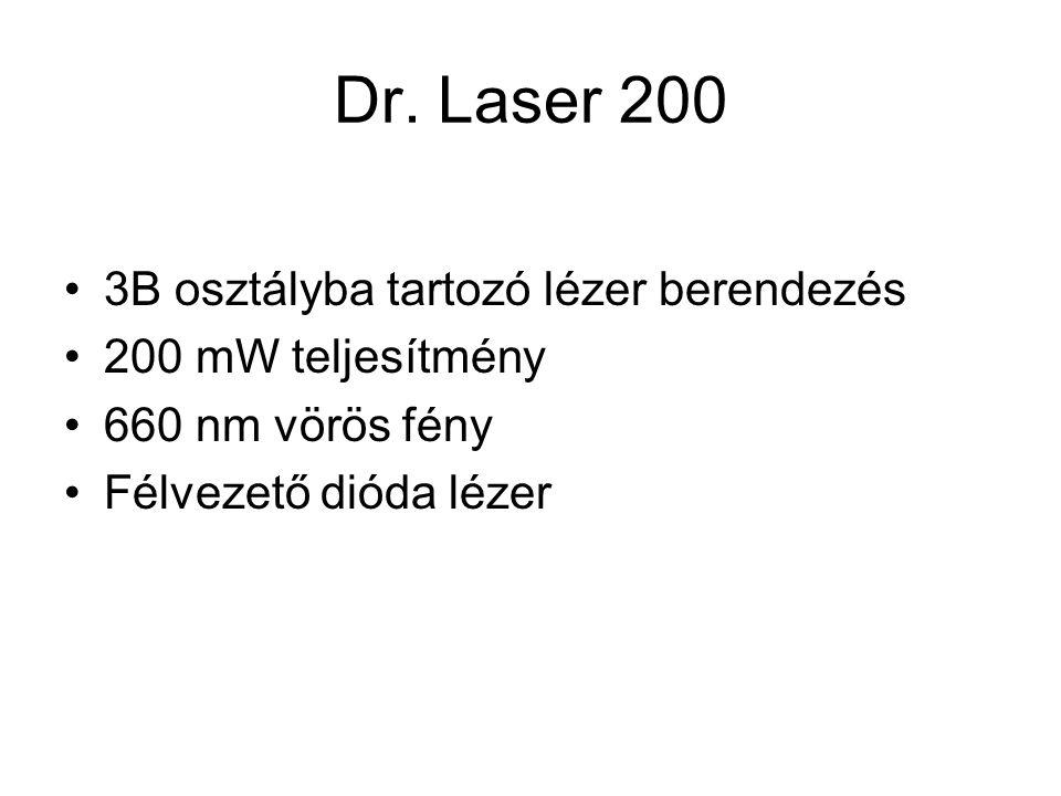 Dr. Laser 200 3B osztályba tartozó lézer berendezés