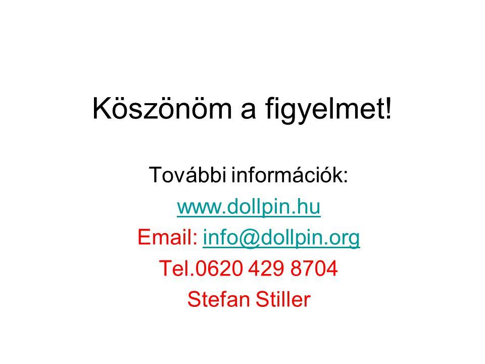 Köszönöm a figyelmet! További információk: www.dollpin.hu