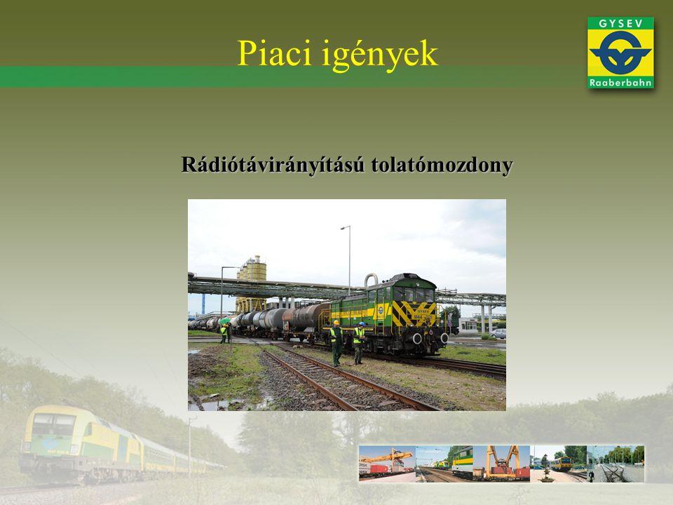 Rádiótávirányítású tolatómozdony